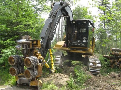 lumber cutting monster machine
