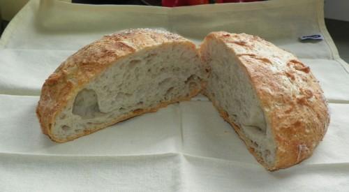 airy no knead bread