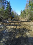 muddy logging road