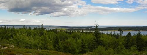 pigeon hill maine panorama