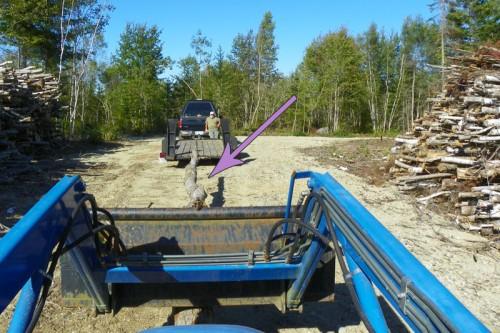 load wood