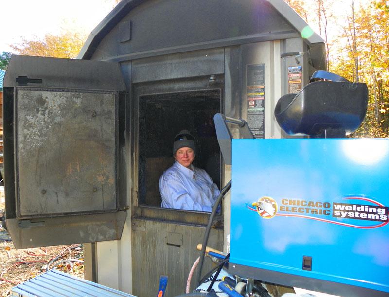Wood Furnace Repair A Downeast Thunder Farm Dirty Job