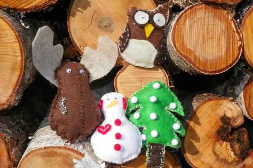 Hannah's Felt Ornaments