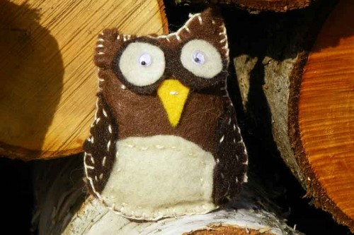 Hannah's Owl Ornament
