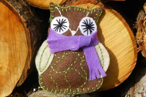 Mommy Owl Ornament