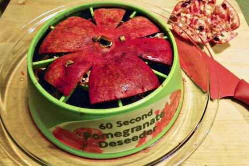 the pomegranate de-seeder