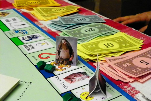 Hagrid Wins at Monopoly