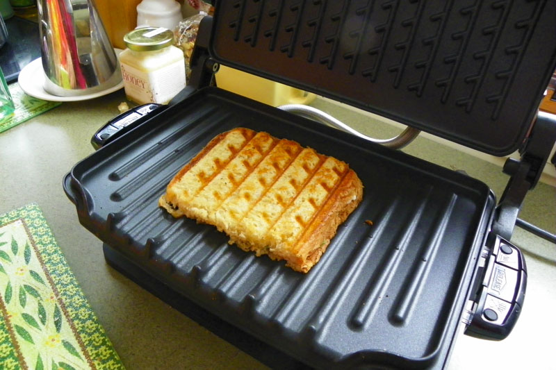 george foreman grilled cheese
